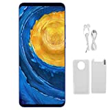 Mate40 RS Smartphone, 5.8 Inch HD Full Screen Smartphone 3G Intelligent System Small Mobile Phone Dual Cards Dual Standby, for Android System, 512MB+4GB(Blue)