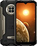 DOOGEE S96 Pro (Official) Rugged Smartphone 8GB + 128GB with Night Vision Camera Cell Phone Unlocked 6350 mAh Battery Helio G90 877MP UHD Photo IP68/IP69K Waterproof 2021 GPS/NFC Smartphone (Black)